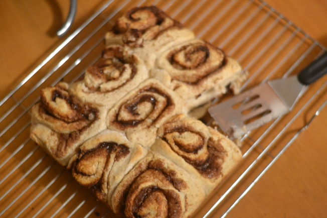 Whole Wheat Cinnamon Rolls 2
